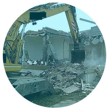 demolición vivienda